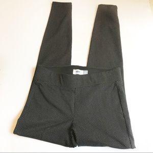 Old Navy Black Polka Dot Leggings XS